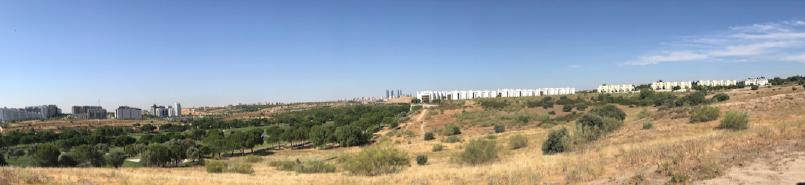 Terrenos del complejo urbanístico Solana de Valdebebas